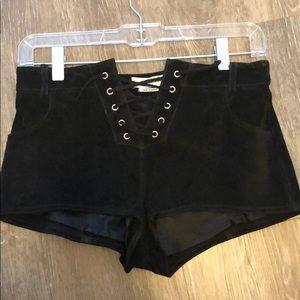Isabel Marant Etoile suede shorts